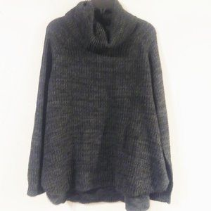 Its Our Time Knit Gray Sweater